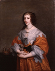 Queen Henrietta Maria by Studio of Sir Anthony  Van Dyck