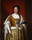 Queen Anne by Studio of Sir Godfrey Kneller Bt