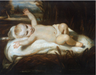 Infant Moses by Sir Joshua Reynolds PRA