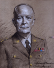 General Eisenhower by Frank O. Salisbury RA