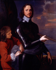 Oliver Cromwell, Lord Protector by Studio of Robert Walker