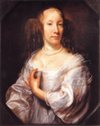 Portrait of a lady by John Michael Wright