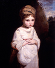 The Strawberry Girl by Sir Joshua Reynolds PRA, Circle of