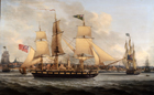 Shipping off Liverpool by John Jenkinson