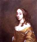 Lady of the Popham family by Sir Peter Lely