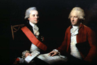 Lord MacCartney and Sir George Leonard Staunton by Lemuel Francis Abbott