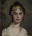 Sketch of the head of a lady by Sir Thomas Lawrence PRA