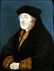Desiderius Erasmus by Hans Holbein, Circle of