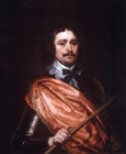 Portrait of a Royalist commander by William Dobson
