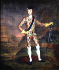 Prince Charles Stuart by John Worsdale Attributed to